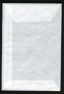 Pergamijn enveloppen groot (125mm x 85mm) per 1000