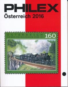 Philex catalogus Oostenrijk Editie 2016