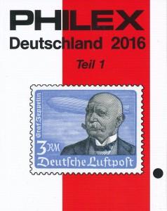 Philex catalogus Duitsland Deel 1 Editie 2016