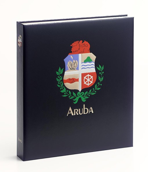 DAVO Luxe postzegelalbum Aruba 1986-2014 1