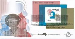 Nederland 2009 FDC Blok Drie koninginnen onbeschreven E587