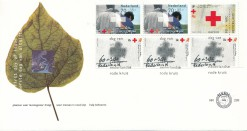 Nederland 1992 FDC Boekje Rode Kruis onbeschreven E299A