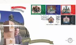 Nederland 2007 FDC Port Betaald Zegel TNT Persoonlijk onbeschreven PBZ 11