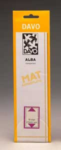 Davo Alba klemstroken A28 (215 x 32) set van 25 stuks