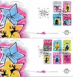 Nederland 2009 FDC Decemberzegels onbeschreven E599 (2)