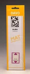 Davo Alba klemstroken A150 (voor velletjes van 10) set van 10 stuks