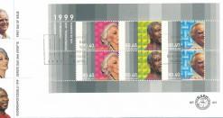 Nederland 1999 FDC Blok Ouderenzegels onbeschreven E401A