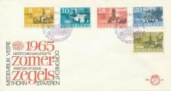 Nederland 1965 FDC Zomer onbeschreven E74
