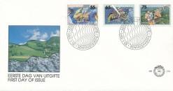 Nederland 1991 FDC Milieuzegels onbeschreven E279