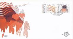 Nederland 2010 FDC Port Betaald Zegel TNT-post symbolen onbeschreven PBZ 13
