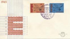 Nederland 1965 FDC Europa onbeschreven E75