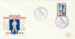 Nederland 1965 FDC Mariniers onbeschreven E77