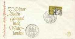 Nederland 1964 FDC 500 jaar Staten Generaal onbeschreven E62