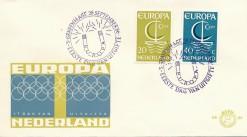 Nederland 1966 FDC Europa onbeschreven E80