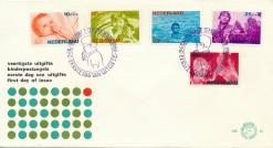 Nederland 1966 FDC Kind onbeschreven E81