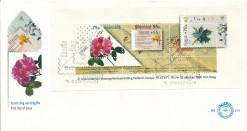 Nederland 1988 FDC Blok Filacept onbeschreven E259