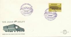 Nederland 1967 FDC T.H. Delft onbeschreven E82
