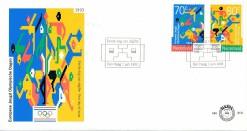 Nederland 1993 FDC Europese Jeugd Olympische Dagen onbeschreven E310