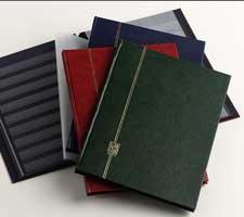 DAVO NERO Einsteekboek groot, 16 bladzijden, 8 bladen