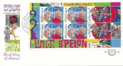 Nederland 1991 FDC Blok Kinderzegels onbeschreven E288A