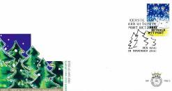 Nederland 2000 FDC Port Betaald Zegel Kerst onbeschreven PBZ 2