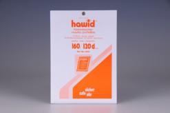 Set a 10 Hawid klemstroken 160x120mm met dubbele klemnaad