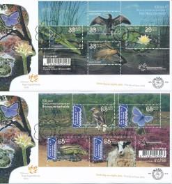 Nederland 2005 FDC Blokken 100 jaar Natuurmonumenten onbeschreven E512 (2)