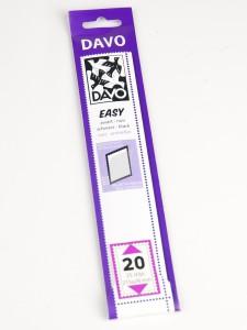 Easy zelfklevende klemstrook Z20 (215 x 24) set van 25 stuks