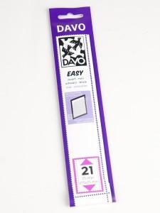 Easy zelfklevende klemstrook Z21 (215 x 25) set van 25 stuks