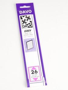 Easy zelfklevende klemstrook Z26 (215 x 30) set van 25 stuks
