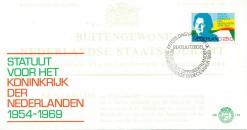 Nederland 1969 FDC Statuut onbeschreven E101