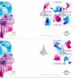Nederland 2005 FDC Decemberzegels onbeschreven E523 (2)