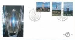 Nederland 1994 FDC Vuurtorens onbeschreven E327