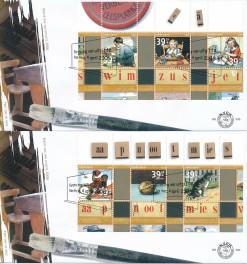Nederland 2006 FDC Blokken Zomerzegels onbeschreven E530 (2)