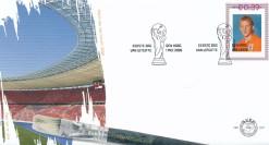 Nederland 2006 FDC Persoonlijke postzegel: WK 2006 onbeschreven E531