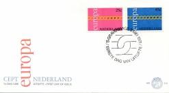 Nederland 1971 FDC Europa onbeschreven E112