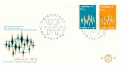 Nederland 1972 FDC Europa onbeschreven E117