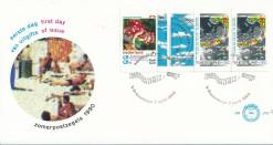 Nederland 1990 FDC Boekje Zomerzegels onbeschreven E272A