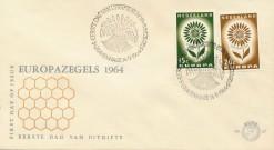Nederland 1964 FDC Europa onbeschreven E67
