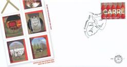 Nederland 2004 FDC Port Betaald Zegel Carre onbeschreven PBZ 7