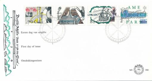 Nederland 1996 FDC Ontdekkingsreizen onbeschreven E356 1