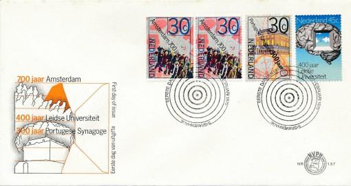 Nederland 1975 FDC Historische serie onbeschreven E137 1