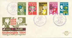 Nederland 1964 FDC Kind onbeschreven E69
