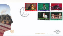 Nederland 2005 FDC Port Betaald Zegel Huisdieren  onbeschreven PBZ 9