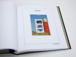 Luxe bladen Nederland persoonlijke Postzegel PVV Velletjes van 3 (per 5)