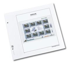 Luxe bladen Nederland persoonlijke Postzegel  vierkant Vel.  H  (per 5)