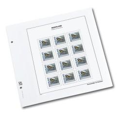 Luxe bladen Nederland persoonlijke Postzegel  vierkant  (per 5)