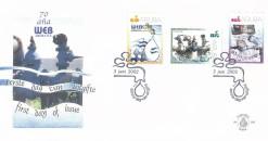 Aruba 2002 FDC 70 jaar Water- en energiebedrijf E 100