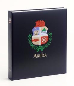 Luxe band postzegelalbum  Aruba I