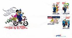 Nederlandse Antillen 2003 FDC Stripfiguren E 349